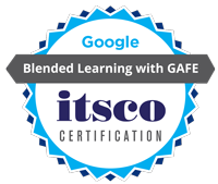 Earn your Blended Learning with GAFE Badge