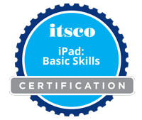 Earn the iPad Basic Skills Badge