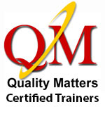 Quality Matters certified trainers