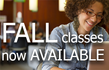 Fall classes now available